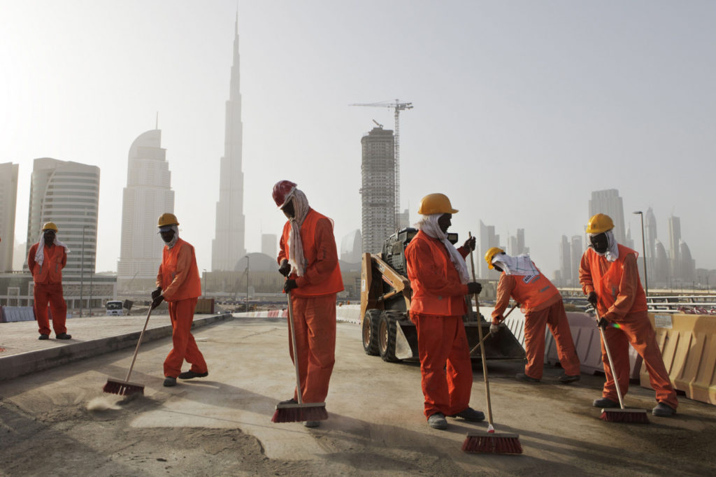 Как найти работу разнорабочим на стройке в Дубае?