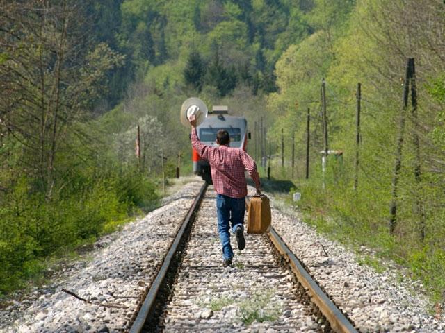 Поезд уехал