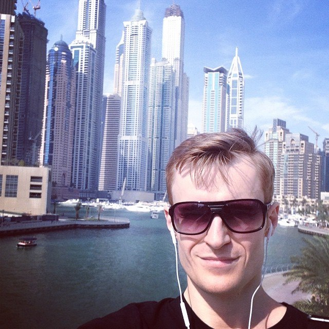 Иван Будько в Дубае
