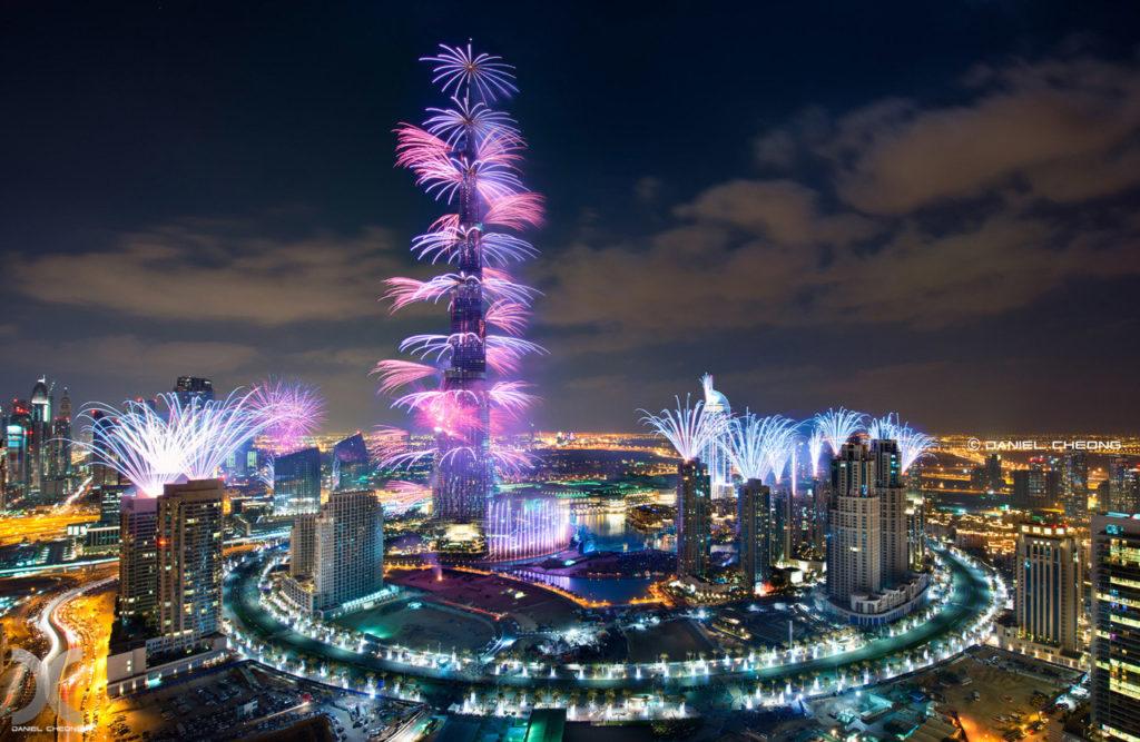 Как встречают Новый год в Дубае?